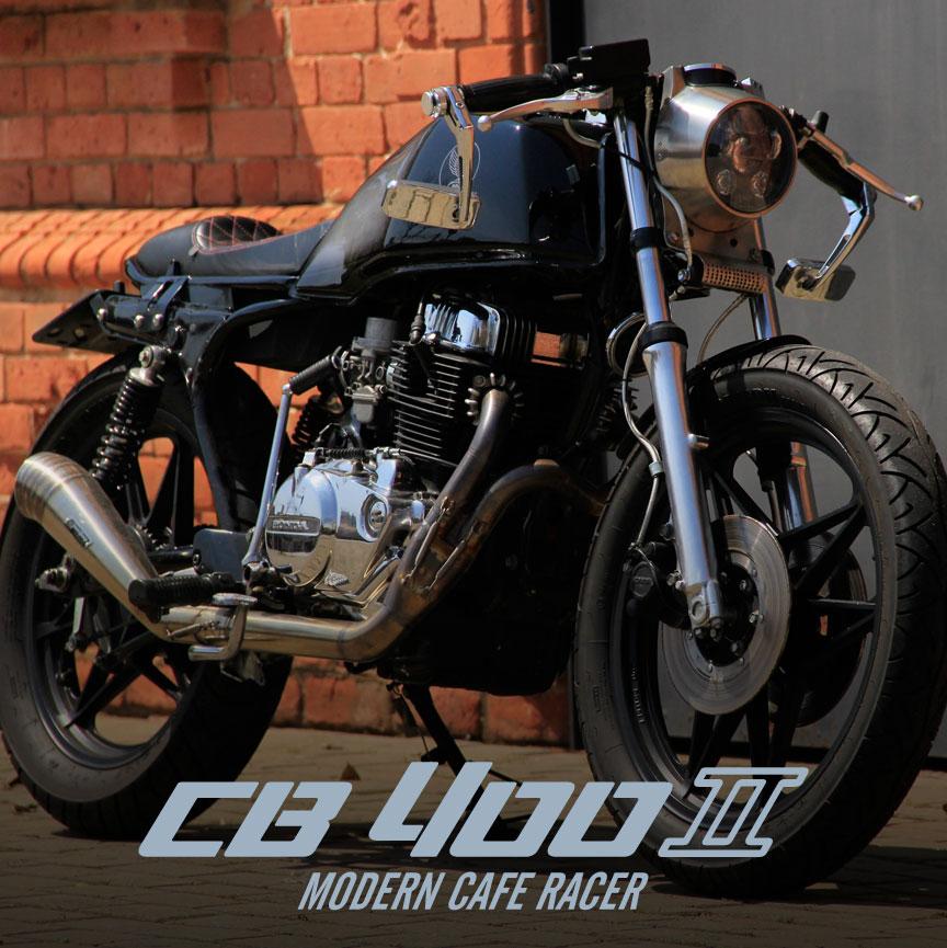 Cb 400 II Modern Cafe Racer