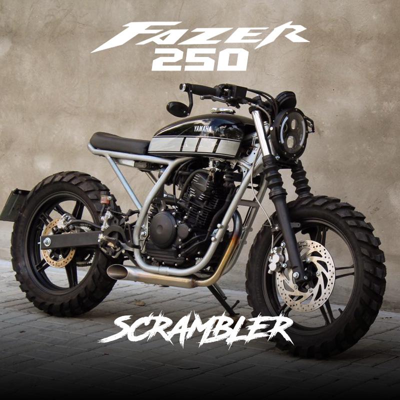 Yamaha Fazer 250 Scrambler