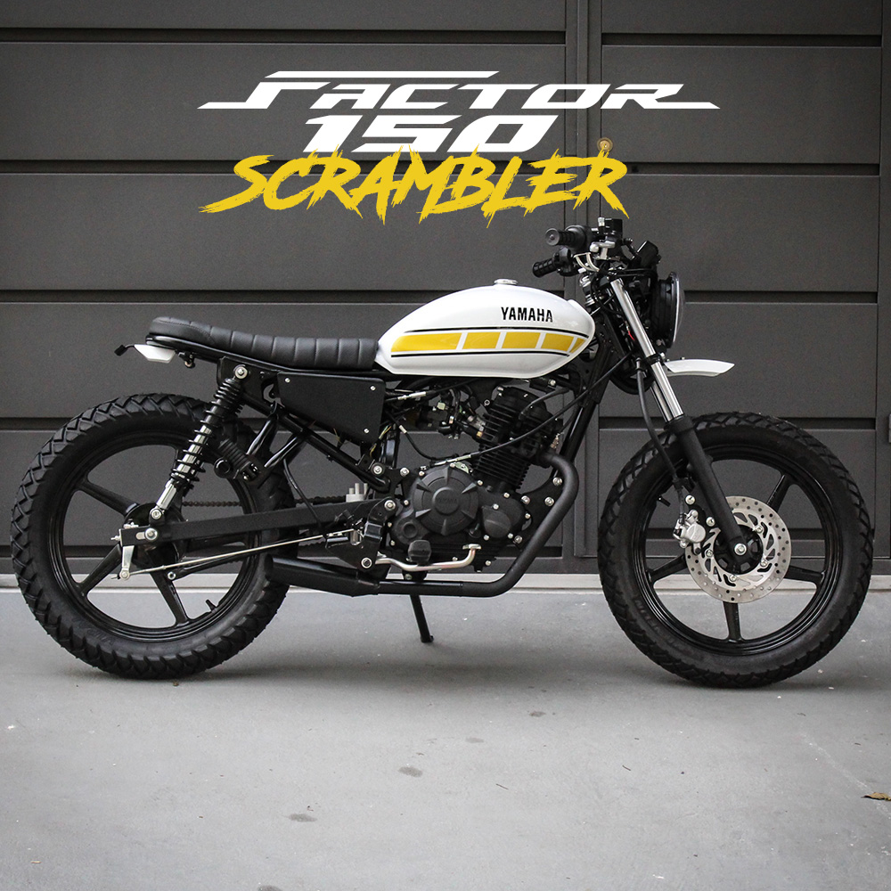 Yamaha Factor 150 Scrambler Benta Handemade